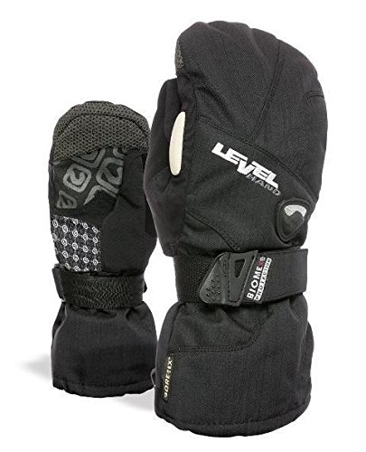 Level Half Pipe GTX Women's Snowboard Protective Mittens with GoreTex Shell, BioMex Integrated Wrist Guards, ThermoPlus Liner