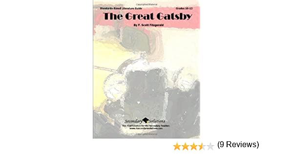 Great gatsby teacher guide literature unit for teaching the great gatsby teacher guide literature unit for teaching the great gatsby in grades 9 12 kristen bowers 9780981624372 amazon books fandeluxe Choice Image