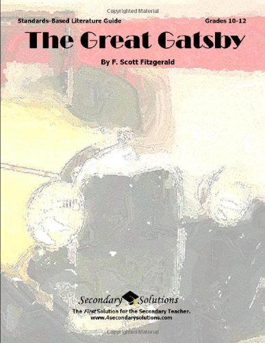 Great Gatsby Teacher Guide - Literature Unit for Teaching The ...