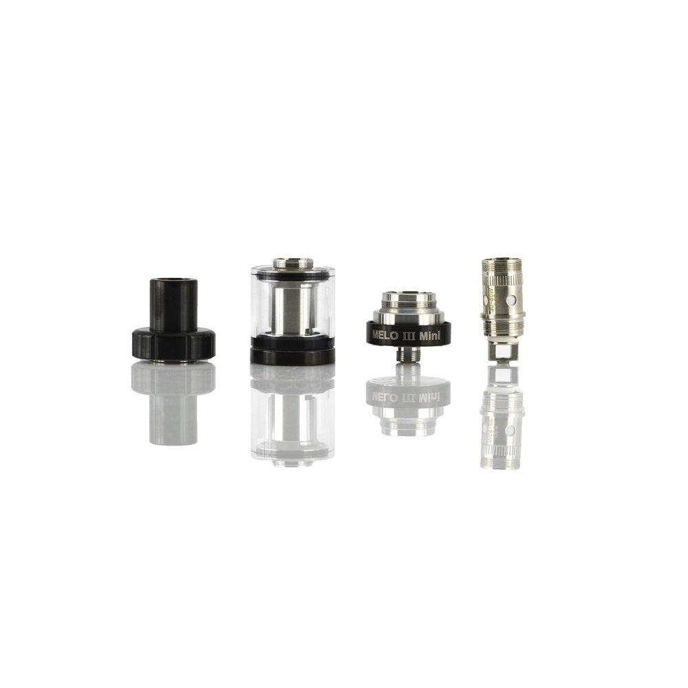 ... llenado superior, control de flujo de aire Subohm Tank Melo III atomizador electrónico de cigarrillo para Istick Pico Mega Mod (negro), Este producto no ...
