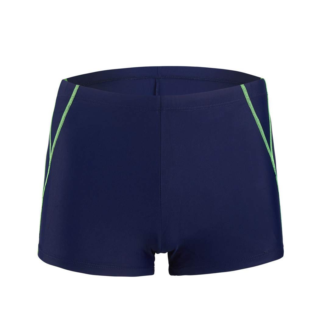 iLXHD Shorts Men Summer Quick Dry Swimwear Beach Surfing Swimming Short Pants Boxer Briefs