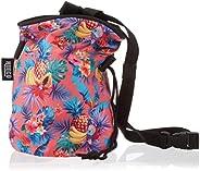 Hueco Chalk Bag with Belt and Zipper Smartphone Pocket for Rock Climbing, Bouldering, Gymnastics, Fitness, Cro