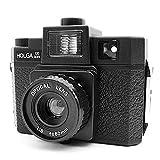 Holga 120GCFN 120 GCFN Medium Format Film Camera Glass Lens Flash Lomo - Black