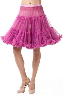 product image for Malco Modes Luxury Vintage Knee-Length Crinoline Jennifer Petticoat Skirt Pettiskirt, Adult Tutu for Rockabilly 50s