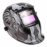 Coocheer Solar Arc Tig Mig Auto-Darkening Welding Helmet/Hood MIG TIG ARC Professional Mask (monster)