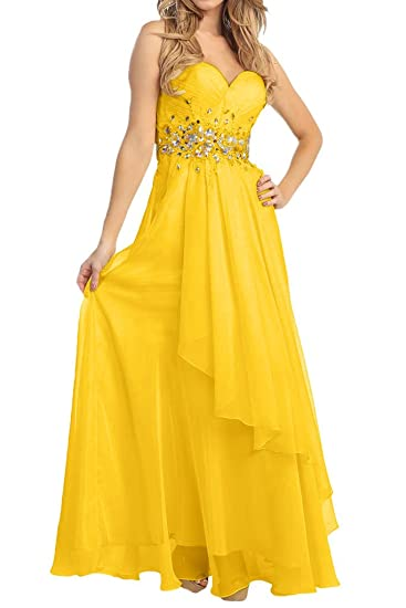 La Mariee Sweetheart Girls Long Ball-Gown Prom Dresses Bridesmaid Dresses at Amazon Womens Clothing store: