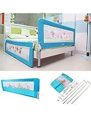 150cm/180cm Barandilla de La Cama Guardia de Seguridad para Niños, Barandilla Plegable de La Cama Infantil