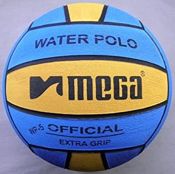 Water Polo Ball. Mega. El Aprendizaje diseño. Tamaño 5: Amazon.es ...