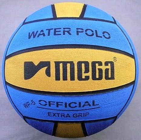 Water Polo Ball. Mega. El Aprendizaje diseño. Tamaño 5: Amazon.es ...