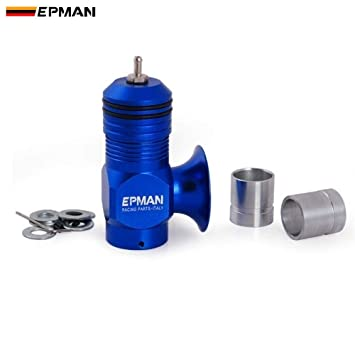 Amazon.com: Epman Type H Rfl Universal Anodized Aluminum 25PSI Turbo Blow Off Valve Jdm For BMW For VW MK2 MK5 EP-BOV1002 (Blue): Automotive