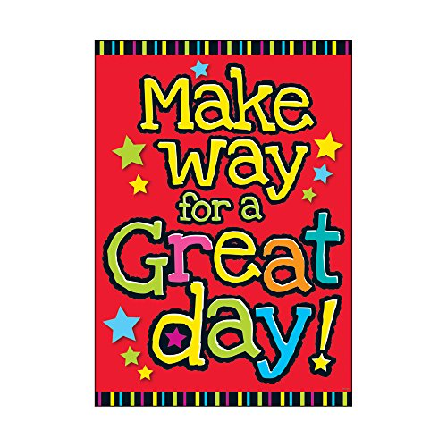 Argus Make Way for a Great Day Poster,