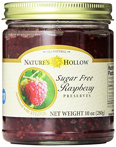 Nature's Hollow Sugar-Free Raspberry Jam Preserves, 10 Ounce ()