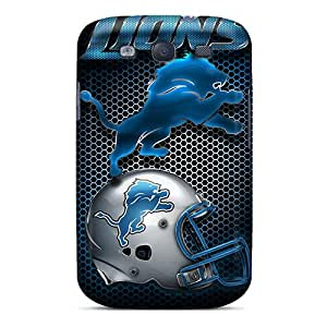 TimeaJoyce Samsung Galaxy S3 Bumper Hard Phone Cases Allow Personal Design Trendy Detroit Lions Image [mOF18461NHjb]