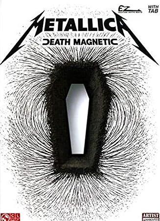 Metallica: Death Magnetic (Easy Guitar). Partituras para Guitarra, Acorde de Guitarra, Tablaturas de Guitarra Fácil: Amazon.es: Instrumentos musicales