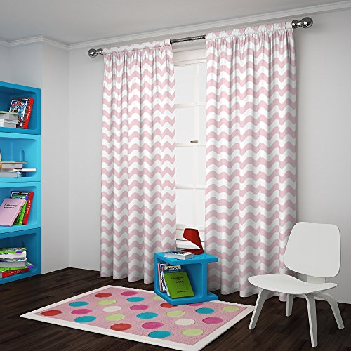 Eclipse My Scene Thermaback Blackout Wavy Chevron Window Cur
