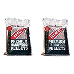 CC_PLAP Fire up your pellet grill and the smoker, because with 20 pounds of Camp Chef Smoker Grill Premium Apple Hardwood Pellets, you'll have plenty of fuel to cook up a storm on the patio or deck. These premium pellets are for premium cooki...