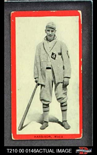 1910 T210-3 Old Mill Texas League Harbison (Baseball Card) Dean's Cards 2 - GOOD 51bcXNpxuRL