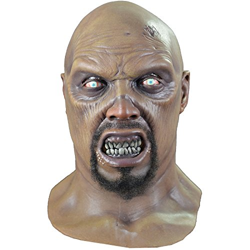 Trick or Treat Studios Men's Land Of The Dead-Big Daddy Zombie Mask, Multi, One Size -