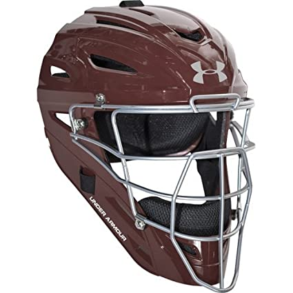 Under Armour Professional Gloss Adult Baseball Catcher's Helmet All-Star Sporting Goods