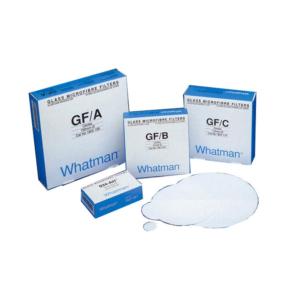 Whatman Quartz Microfiber Filter Grade QM-A  Numbered 8 x 10 inch Pack of 100