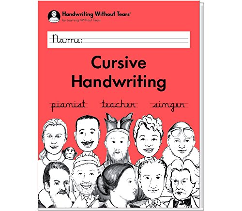 Handwriting Without Tears Cursive Handwriting - Grade 3 -2018 Edition
