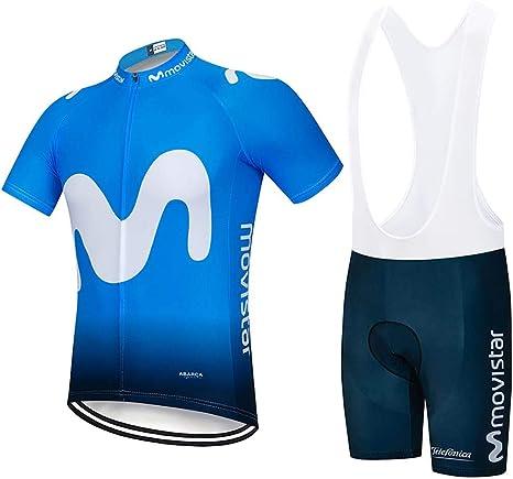Moxilyn Ropa Ciclismo Hombre Traje de Bicicleta Ciclismo Conjunto para Verano Maillot Ciclismo Hombre+9D Gel Culotte Ciclismo: Amazon.es: Ropa y accesorios