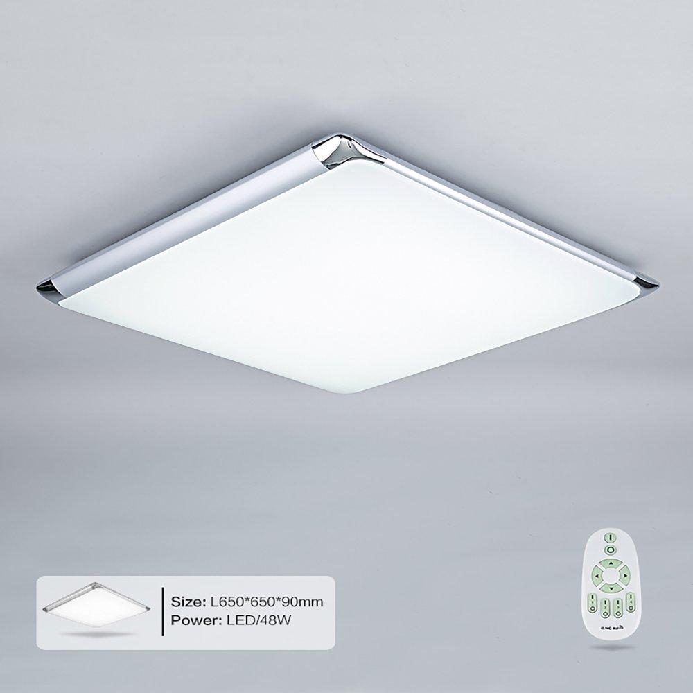 Natsen® Moderne LED Deckenleuchten Wohnzimmer Deckenlampe Fernbedienung voll voll voll dimmbar Lampe (I507F-48W-WJ) 7faa15
