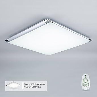 Lampe Mit Fernbedienung | Natsen Moderne Led Deckenleuchten Wohnzimmer Deckenlampe