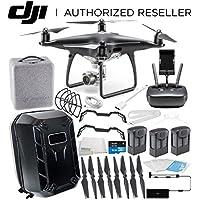 DJI Phantom 4 PRO Obsidian Edition Drone Quadcopter (Black) Ultimate Hardshell Backpack Bundle