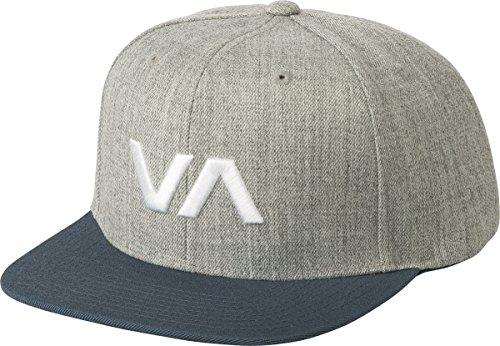 RVCA Men's VA Snapack II Hat, Heather Blue, One Size ()