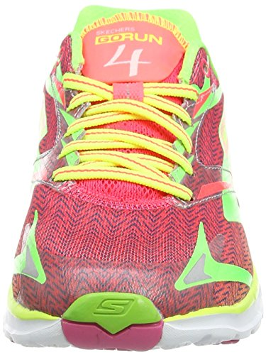 Go Lime Skechers Laufschuhe Run Pink 4 Green Damen fxBgx