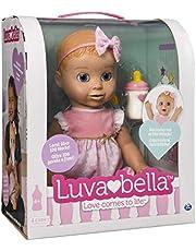 Luvabella Bambola Interattiva, Versione Italiana/Tedesca, Colore Bionda, 6039298