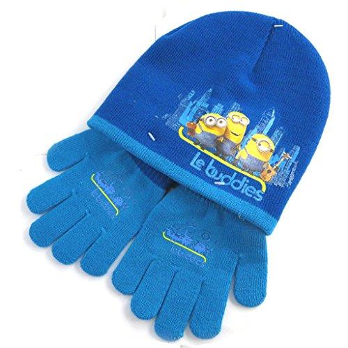 癌まとめるどっちでも[Minions (Minions)] (Minions コレクション) [N0489] 手袋 ブルー