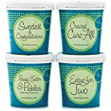 eCreamery Pregnancy Cravings or Baby Shower Gift - Deluxe Ice Cream 4 pack