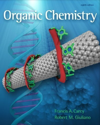 Student Solutions Manual to accompany Organic Chemistry 8th (eighth) Edition by Carey, Francis, Allison, Neil published by McGraw-Hill Science/Engineering/Math (2010)