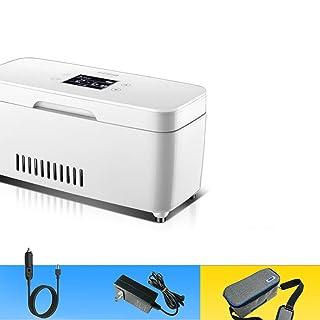 RTTyp Caja refrigerada Incubadora médica, refrigerador doméstico, 2-8 Grados, insulina fría, pequeña, Caja portátil con batería (Color : B)
