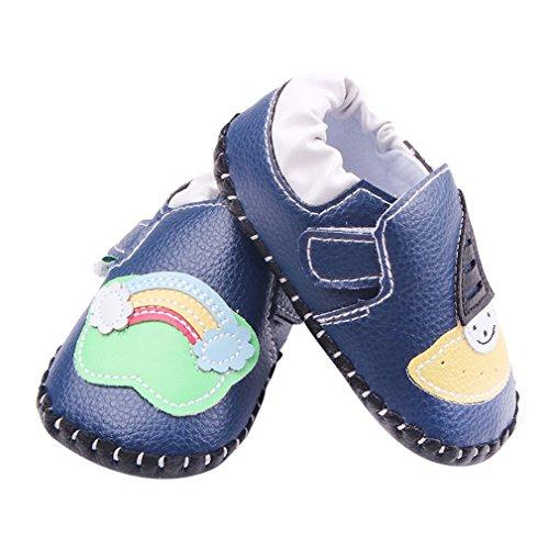 La Vogue Zapatos para Bebe Infantil Primeros Pasos Modelo 1 Azul Talla 13cm