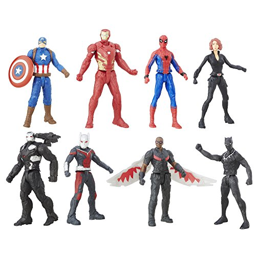 Captain+America Products : Captain America Civil War 2.5 Inch  Figure Multipack