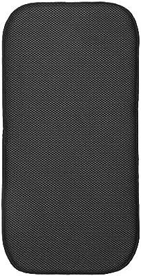 Blanco//Negro Alfombrilla escurreplatos peque/ña y Gruesa de poli/éster y Microfibra para un Secado de Platos r/ápido InterDesign iDry Tapete de Cocina