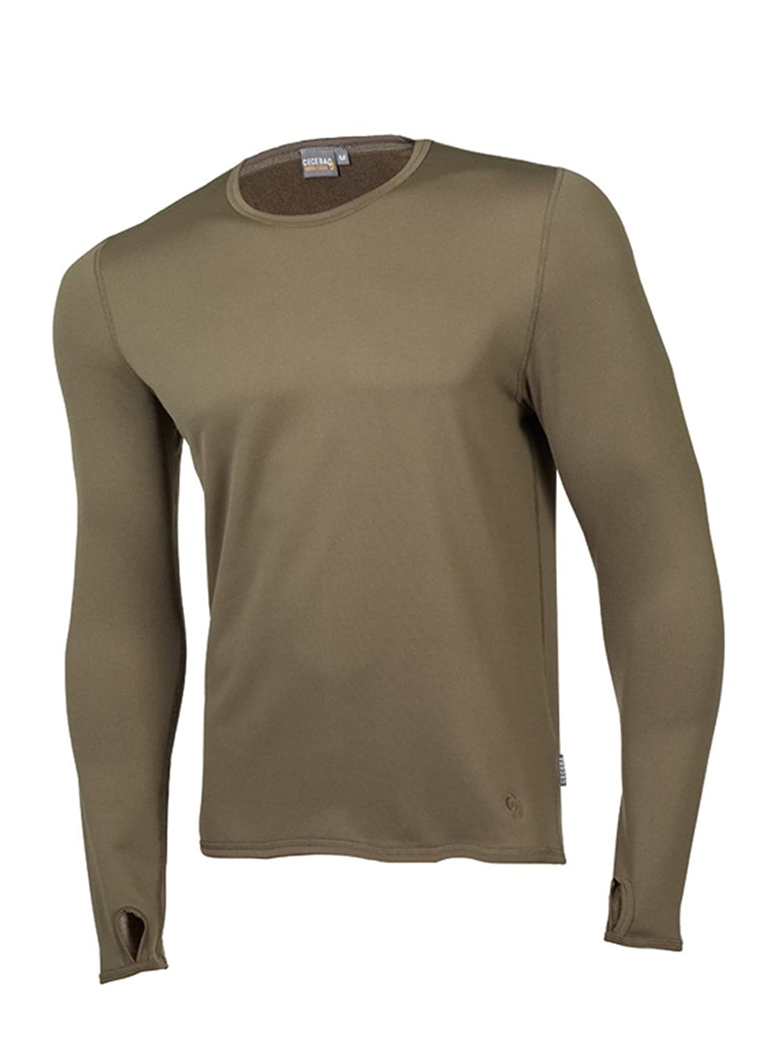 Ceceba 1806 Thermal Control Long Shirt Doppelpack Olive M bis 3XL