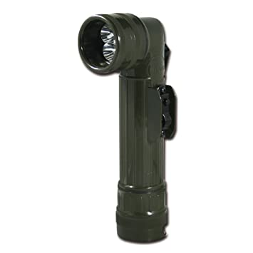 Winkeltaschenlampe US LED medium oliv Taschenlampen