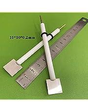PEC-test, 50 * 50 * 50 mm elektrolytische kwartscel, kwarts elektrolytische cel en ondersteunende elektrode worden afzonderlijk gekocht,Platinum tablet