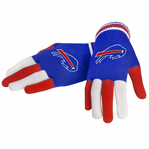 Team Beans Buffalo - FOCO Buffalo Bills Multi Color Team Knit Glove