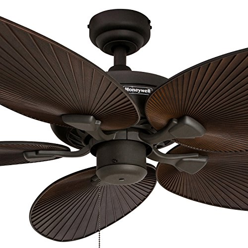 Honeywell Palm Island 52 Inch Ceiling Fan Five Tropical