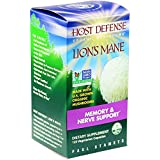Host Defense - Lion's Mane Capsules, Memory & Nerve Support, 120 count (FFP)