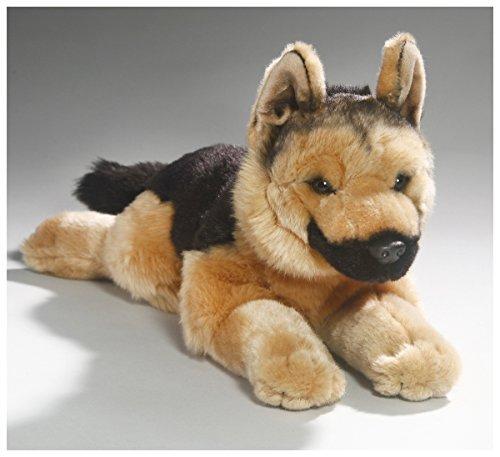Carl Dick German Shepherd Dog 15.5 inches, 32cm, Plush Toy, Soft Toy, Stuffed Animal 3363