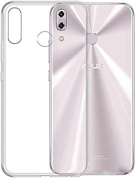 TenYll Funda ASUS Zenfone 5z ZS620KL, Funda Transparente Suave TPU Gel[Ultra Fina] [Protección a Bordes y Cámara] -Transparente: Amazon.es: Electrónica