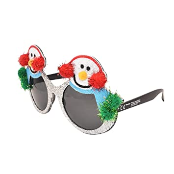 BESTOYARD Gafas de Sol de Navidad de Muñeca de Nieve Accesorios de ...