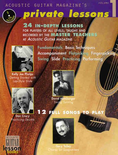 Acoustic Guitar Magazine's Private Lessons [With 2 CD's]
