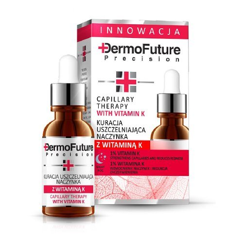 Dermofuture Capillary Face Therapy with Vitamin K Night Face Serum 20ml